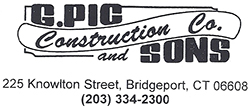 G. Pic Construction Co. and Sons